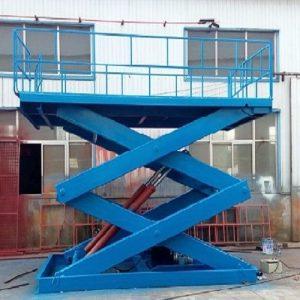 bàn nâng thủy lực 1 tấn lên 5m giá rẻ