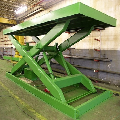 Bàn nâng điện cố định 10 tấn lên cao 1,7m