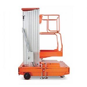 thang nâng trục trượt tải 150kg cho 1 người làm việc