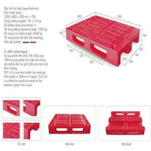 Pallet nhựa-ba let nhựa giá rẻ chất lượng cao