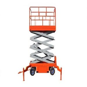 thang nâng điện ziczac lên 6m-Thang nâng người lên cao
