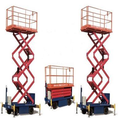 Thang nâng cắt kéo lên cao 12m giá rẻ chất lượng