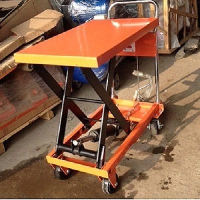 Xe nâng mặt bàn 300kg lên cao 880mm