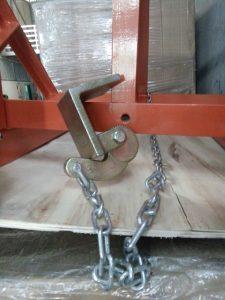 Móc xích bộ kẹp thùng phuy sắt giá rẻ