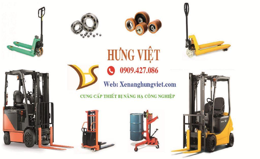 Hưng Việt cung cấp xe nâng hàng giá rẻ các loại