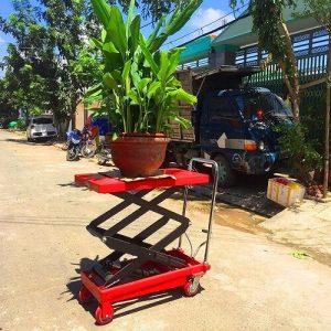 Xe nâng chậu cây cảnh 300kg/500kg/1 tấn