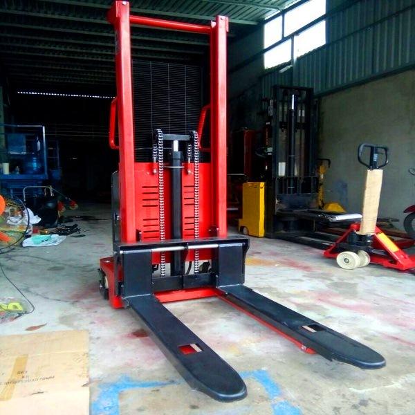 Xe nâng bán tự động 1 tấn cao 1,6m hiệu Niuli