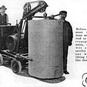 Chiếc xe nâng hàng đầu tiên trên thế giới