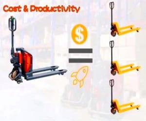So sánh giá xe nâng tay điện 1,5 tấn