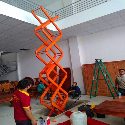 Gia công bàn nâng thủy lực tại HCM giá rẻ nhất