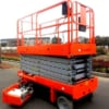 Thang nâng điện tự hành 6m nâng hạ và di chuyển dễ dàng