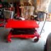 Xe nâng mặt bàn 800kg cao 1m3/1m5/1m7 có sẵn tại kho Hưng Việt