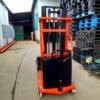 Xe nâng điện bán tự động 2 tấn mẫu công nghệ Đức