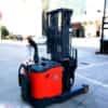 Xe nâng điện đứng lái 1,5 tấn cao 3m giá rẻ