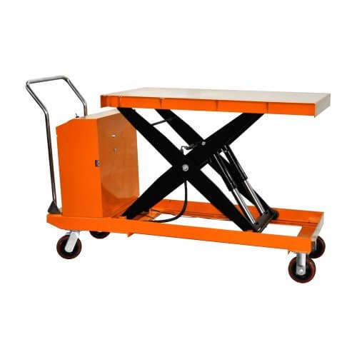Xe nâng mặt bàn 300kg dùng điện giá rẻ