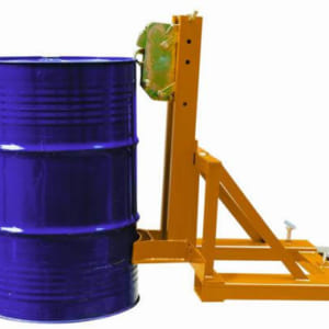 Mỏ kẹp tự động gắp và nắp thùng phuy