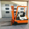 Xe nâng điện cũ Toyota 1,5 tấn cao 3m giá rẻ tại HCM