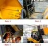 4 Bước lắp gầu xúc lật vào càng gật gù