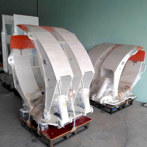 Bộ kẹp cuộn giấy tải 3000kg khổ 490-1500mm