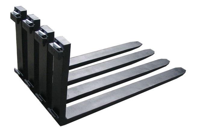 Mỗi dòng xe nâng sẽ có một bộ càng nâng phù hợp với tải trọng