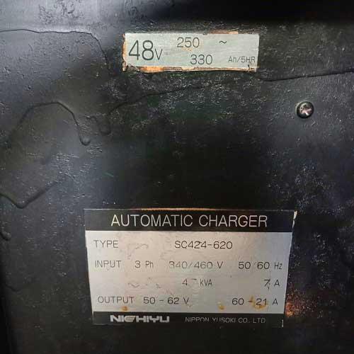 Bộ sạc bình điện xe nâng 48V cũ giá rẻ