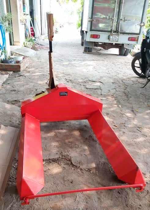 Xe nâng cuộn kéo tay đường kính 1300mm