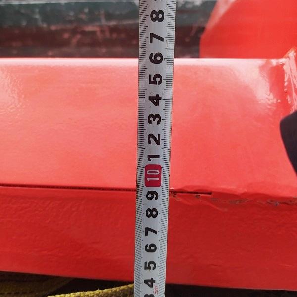 Chiều cao hạ thấp nhất của xe là 160mm