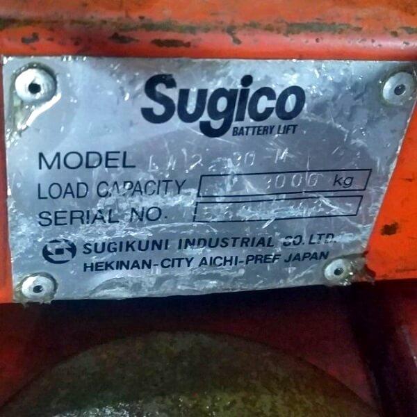 Xe nâng điện kéo tay 3 tấn Nhật cũ giá rẻ