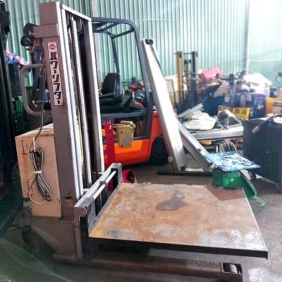 Xe nâng bán tự động cũ OPK 350kg cao 2,5m