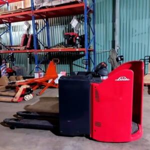Xe nâng tay điện Linde T20 tải trọng nâng 2000kg của Đức chính hãng