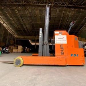 Xe nâng điện cũ cao 3m tải 1300kg dùng cho mọi pallet hàng